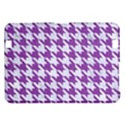 HOUNDSTOOTH1 WHITE MARBLE & PURPLE DENIM Kindle Fire HD 8.9  View1