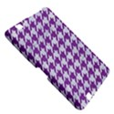 HOUNDSTOOTH1 WHITE MARBLE & PURPLE DENIM Kindle Fire HD 8.9  View5