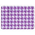 HOUNDSTOOTH1 WHITE MARBLE & PURPLE DENIM Samsung Galaxy Tab 8.9  P7300 Flip Case View1