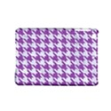 HOUNDSTOOTH1 WHITE MARBLE & PURPLE DENIM iPad Mini 2 Hardshell Cases View1