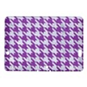 HOUNDSTOOTH1 WHITE MARBLE & PURPLE DENIM Kindle Fire HDX 8.9  Hardshell Case View1