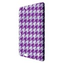 HOUNDSTOOTH1 WHITE MARBLE & PURPLE DENIM Kindle Fire HDX 8.9  Hardshell Case View3