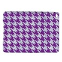 HOUNDSTOOTH1 WHITE MARBLE & PURPLE DENIM iPad Air 2 Hardshell Cases View1