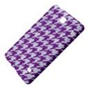 HOUNDSTOOTH1 WHITE MARBLE & PURPLE DENIM Samsung Galaxy Tab 4 (7 ) Hardshell Case  View4