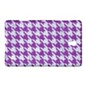 HOUNDSTOOTH1 WHITE MARBLE & PURPLE DENIM Samsung Galaxy Tab S (8.4 ) Hardshell Case  View1