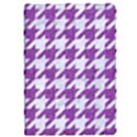 HOUNDSTOOTH1 WHITE MARBLE & PURPLE DENIM Apple iPad Pro 9.7   Flip Case View1