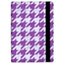 HOUNDSTOOTH1 WHITE MARBLE & PURPLE DENIM Apple iPad Pro 9.7   Flip Case View2