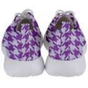 HOUNDSTOOTH1 WHITE MARBLE & PURPLE DENIM Men s Lightweight Sports Shoes View4