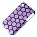 HEXAGON2 WHITE MARBLE & PURPLE DENIM (R) iPhone 3S/3GS View4