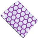 HEXAGON2 WHITE MARBLE & PURPLE DENIM (R) Apple iPad Pro 9.7   Hardshell Case View4