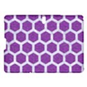 HEXAGON2 WHITE MARBLE & PURPLE DENIM Samsung Galaxy Tab S (10.5 ) Hardshell Case  View1