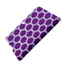 HEXAGON2 WHITE MARBLE & PURPLE DENIM Samsung Galaxy Tab S (10.5 ) Hardshell Case  View4