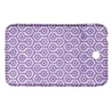 HEXAGON1 WHITE MARBLE & PURPLE DENIM (R) Samsung Galaxy Tab 3 (7 ) P3200 Hardshell Case  View1