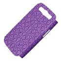 HEXAGON1 WHITE MARBLE & PURPLE DENIM Samsung Galaxy S III Hardshell Case (PC+Silicone) View4