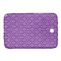 HEXAGON1 WHITE MARBLE & PURPLE DENIM Samsung Galaxy Note 8.0 N5100 Hardshell Case  View1