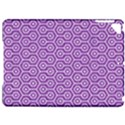 HEXAGON1 WHITE MARBLE & PURPLE DENIM Apple iPad Pro 9.7   Hardshell Case View1