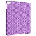 HEXAGON1 WHITE MARBLE & PURPLE DENIM Apple iPad Pro 9.7   Hardshell Case View2