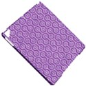 HEXAGON1 WHITE MARBLE & PURPLE DENIM Apple iPad Pro 9.7   Hardshell Case View4