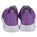 HEXAGON1 WHITE MARBLE & PURPLE DENIM Women s Lightweight Sports Shoes View4