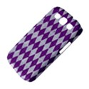 DIAMOND1 WHITE MARBLE & PURPLE DENIM Samsung Galaxy S III Classic Hardshell Case (PC+Silicone) View4