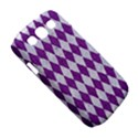 DIAMOND1 WHITE MARBLE & PURPLE DENIM Samsung Galaxy S III Classic Hardshell Case (PC+Silicone) View5