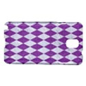 DIAMOND1 WHITE MARBLE & PURPLE DENIM Samsung Galaxy Note 3 N9005 Hardshell Case View1