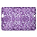 DAMASK2 WHITE MARBLE & PURPLE DENIM (R) Amazon Kindle Fire HD (2013) Hardshell Case View1