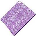 DAMASK2 WHITE MARBLE & PURPLE DENIM (R) Apple iPad Pro 9.7   Hardshell Case View5