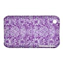 DAMASK2 WHITE MARBLE & PURPLE DENIM iPhone 3S/3GS View1