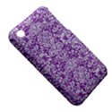 DAMASK2 WHITE MARBLE & PURPLE DENIM iPhone 3S/3GS View5