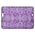 DAMASK2 WHITE MARBLE & PURPLE DENIM Amazon Kindle Fire HD (2013) Hardshell Case View1