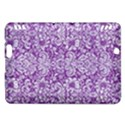 DAMASK2 WHITE MARBLE & PURPLE DENIM Kindle Fire HDX Hardshell Case View1