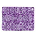 DAMASK2 WHITE MARBLE & PURPLE DENIM iPad Air 2 Hardshell Cases View1