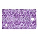 DAMASK2 WHITE MARBLE & PURPLE DENIM Samsung Galaxy Tab 4 (8 ) Hardshell Case  View1