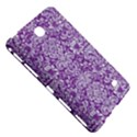 DAMASK2 WHITE MARBLE & PURPLE DENIM Samsung Galaxy Tab 4 (8 ) Hardshell Case  View5