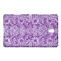 DAMASK2 WHITE MARBLE & PURPLE DENIM Samsung Galaxy Tab S (8.4 ) Hardshell Case  View1