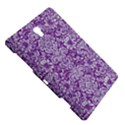 DAMASK2 WHITE MARBLE & PURPLE DENIM Samsung Galaxy Tab S (8.4 ) Hardshell Case  View5