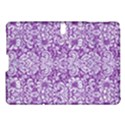DAMASK2 WHITE MARBLE & PURPLE DENIM Samsung Galaxy Tab S (10.5 ) Hardshell Case  View1