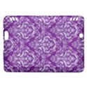 DAMASK1 WHITE MARBLE & PURPLE DENIM Kindle Fire HDX Hardshell Case View1