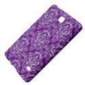 DAMASK1 WHITE MARBLE & PURPLE DENIM Samsung Galaxy Tab 4 (7 ) Hardshell Case  View4