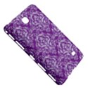 DAMASK1 WHITE MARBLE & PURPLE DENIM Samsung Galaxy Tab 4 (7 ) Hardshell Case  View5