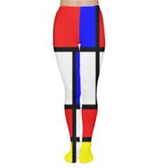 Piet Mondrian Mondriaan Style Women s Tights
