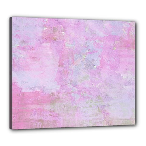 Soft Pink Watercolor Art Canvas 24  X 20  by yoursparklingshop