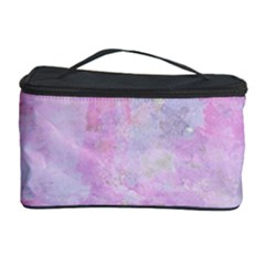 Soft Pink Watercolor Art Cosmetic Storage Case