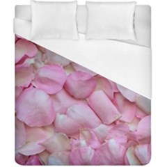 Romantic Pink Rose Petals Floral  Duvet Cover (california King Size)