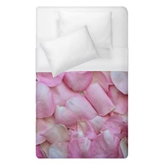Romantic Pink Rose Petals Floral  Duvet Cover (single Size)