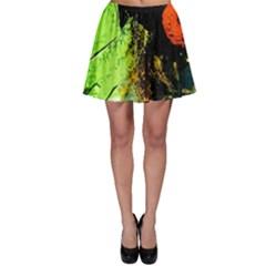 I Wonder 1 Skater Skirt