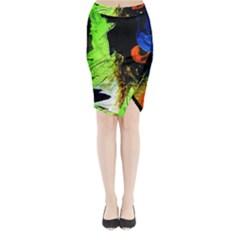 I Wonder 1 Midi Wrap Pencil Skirt
