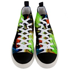 I Wonder 1 Men s Mid Top Canvas Sneakers