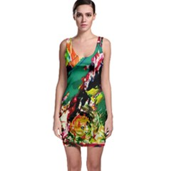 Tulips First Sprouts 2 Bodycon Dress